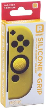 Switch Joy Con Silicone Skin + Grip - Right - Yellow