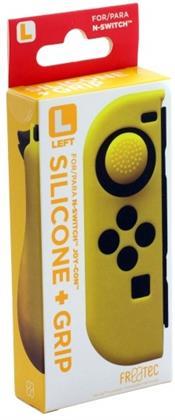 Switch Joy Con Silicone Skin + Grip - Left - Yellow
