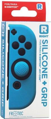 Switch Joy Con Silicone Skin + Grip - Right - Blue