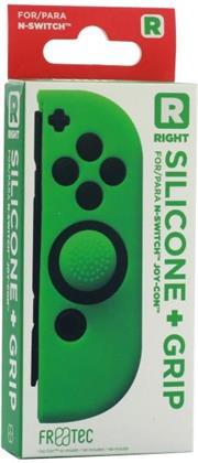 Switch Joy Con Silicone Skin + Grip - Right - Green