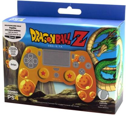 Dragon Ball Z PS4 Hardcover + Grips + LED Sticker