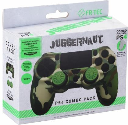 PS4 Hardcover + Grips + LED Sticker Juggernaut