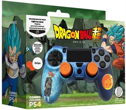 Dragon Ball Super PS4 Hardcover + Grips + LED Sticker