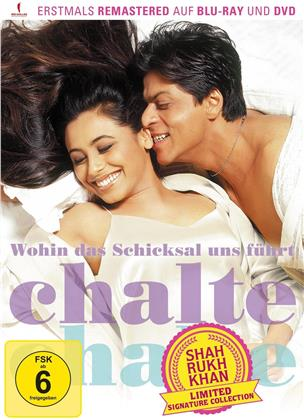 Wohin das Schicksal uns führt – Chalte Chalte (2003) (Shah Rukh Khan Signature Collection, Limited Edition, Remastered, Blu-ray + DVD)
