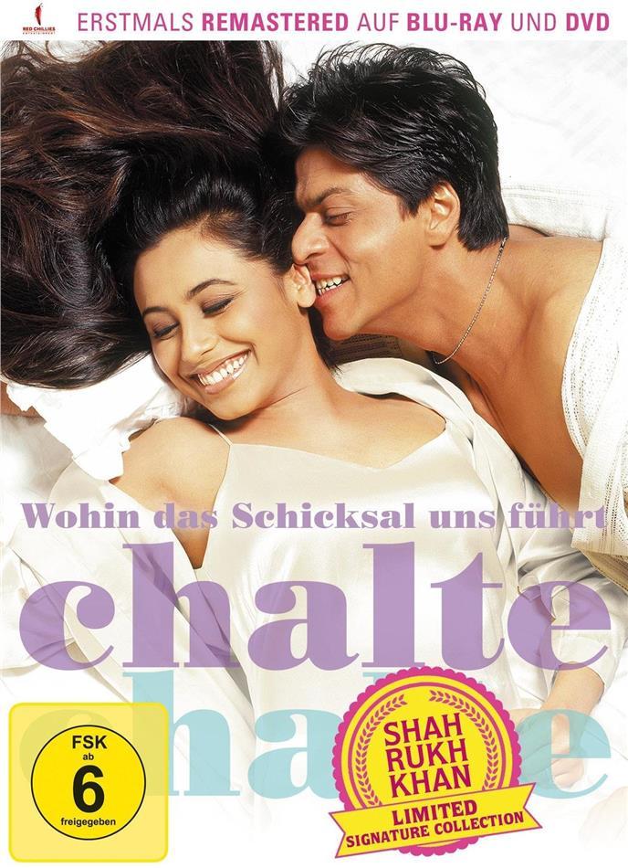 Wohin das Schicksal uns führt – Chalte Chalte (2003) (Shah Rukh Khan Signature Collection, Edizione Limitata, Versione Rimasterizzata, Blu-ray + DVD)