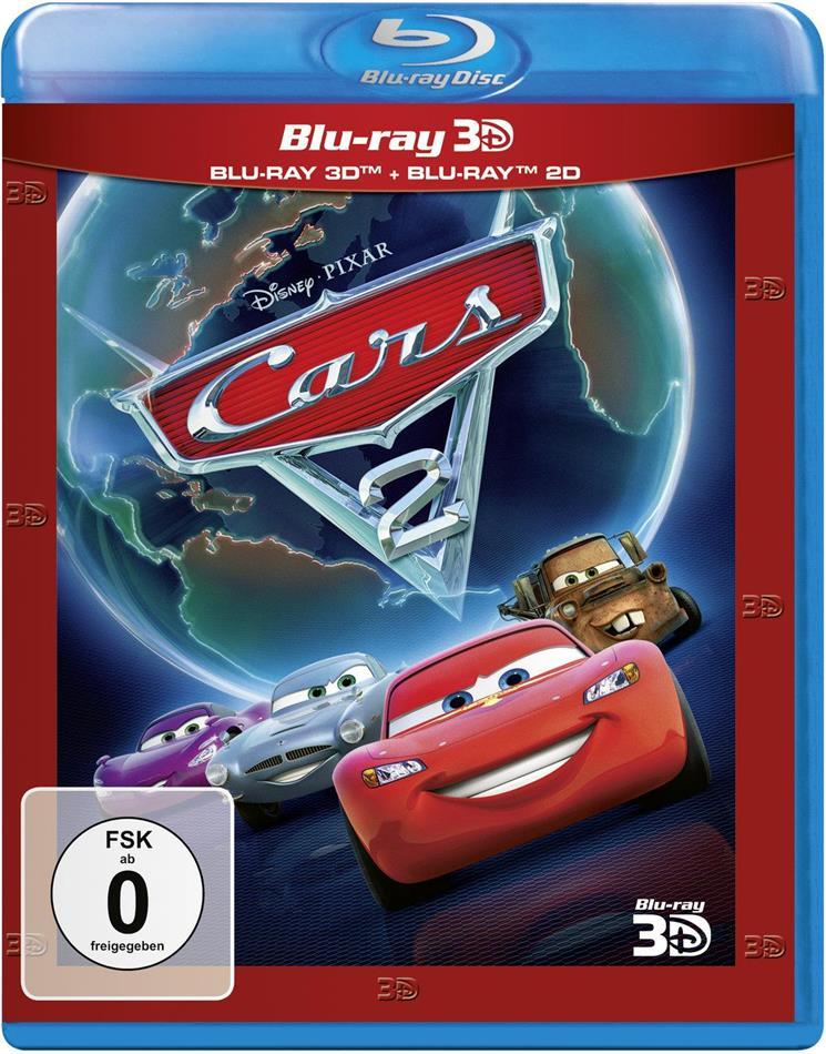 Cars 2 (2011) (Neuauflage, Blu-ray 3D + Blu-ray)