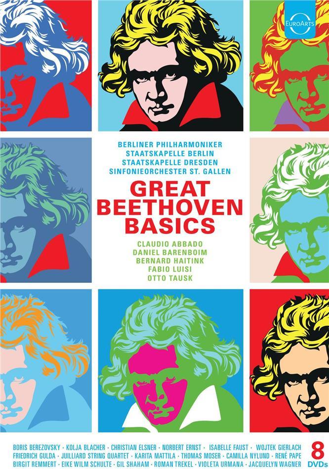 Various Artist - Great Beethoven Basics (8 DVDs)