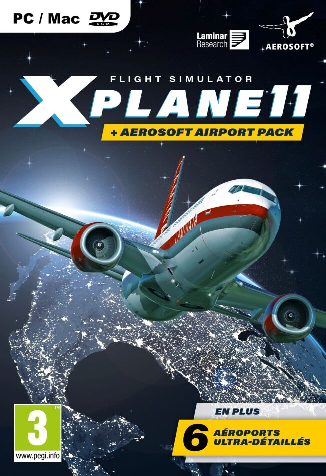 Flight Simulator X-Plane 11 inkl. Aerosoft Airport Pack