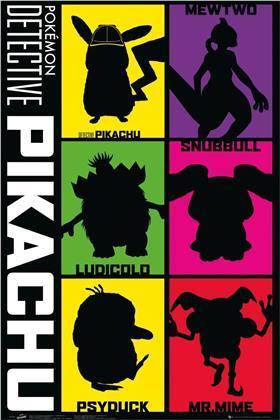 Detective Pikachu - Silhouette - Maxi Poster