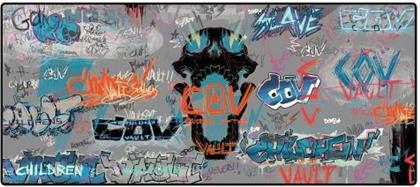 "Borderlands 3 Oversize Mousepad ""Grafitti"""