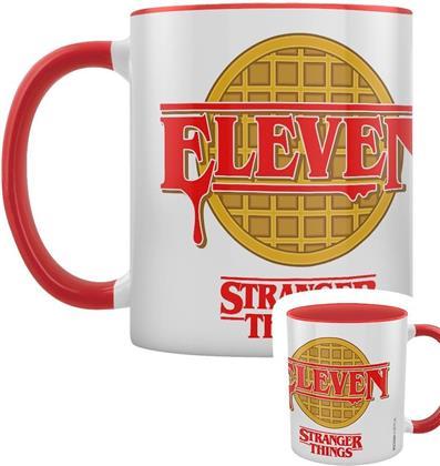 Stranger Things - Eleven - Red Coloured Inner Mug