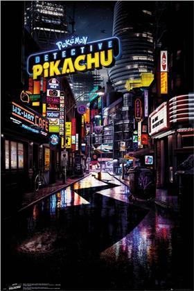 Detective Pikachu - Teaser - Maxi Poster