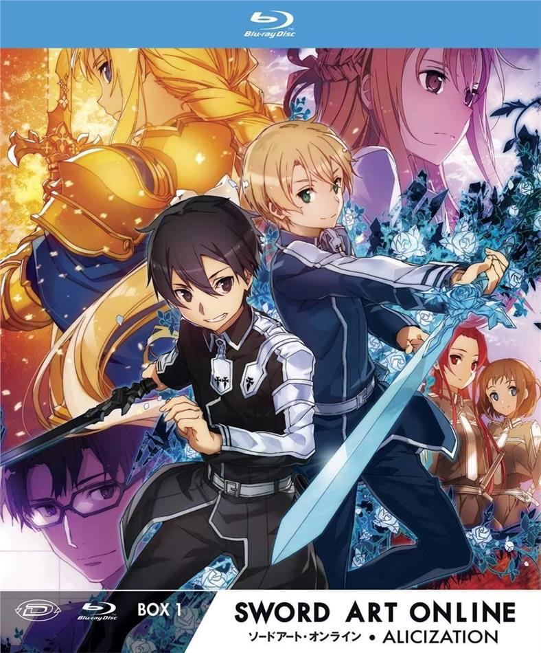 Sword Art Online - Alicization - Stagione 3 - Vol. 1 (Edizione Limitata, 3 Blu-ray)