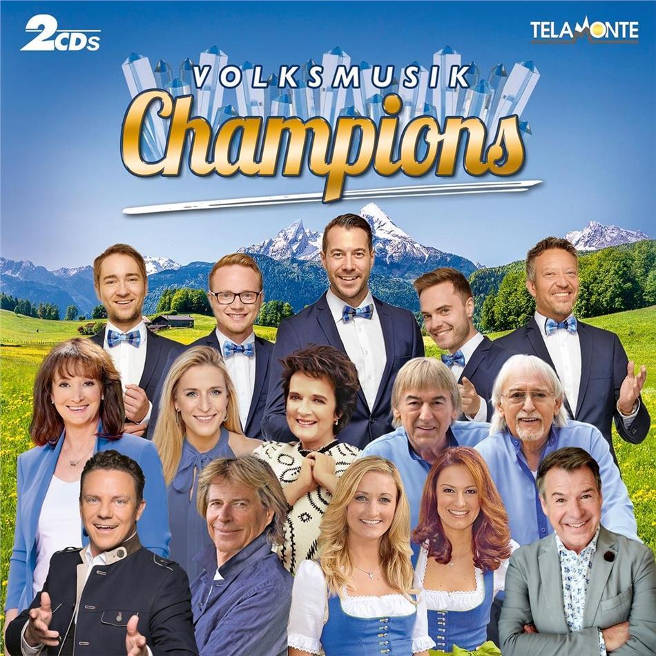 Volksmusik Champions (2 CDs)