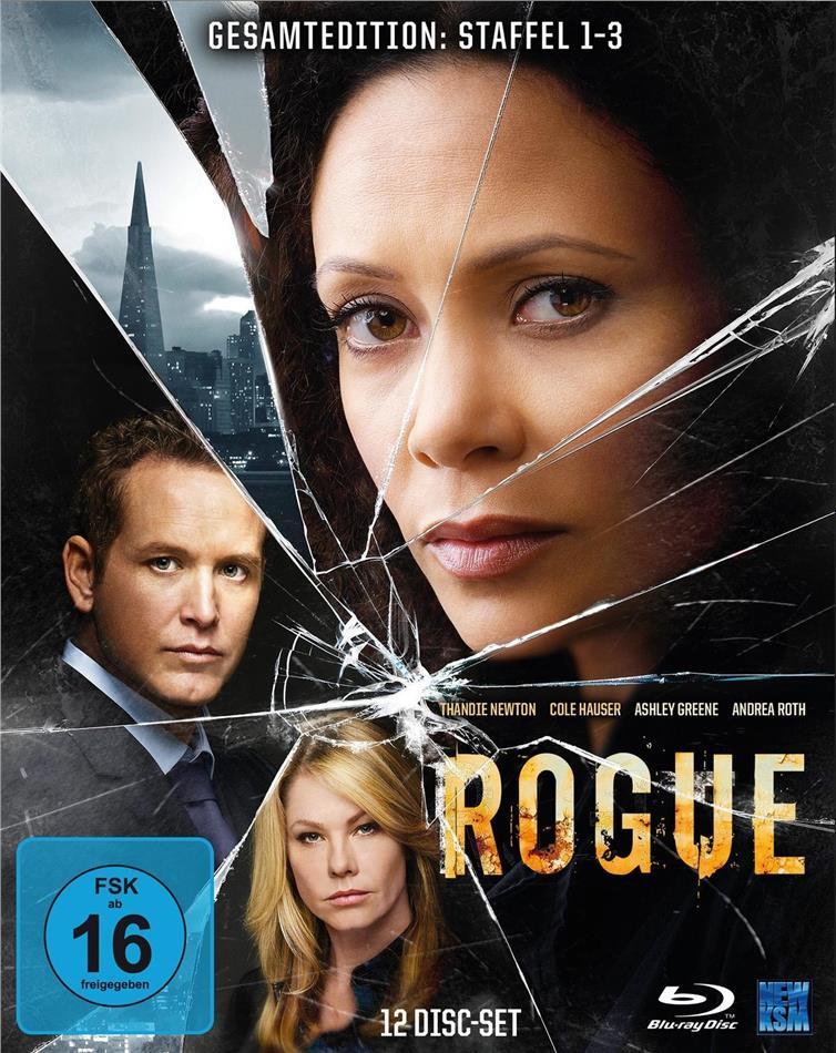 Rogue - Staffel 1-3 (12 Blu-rays)