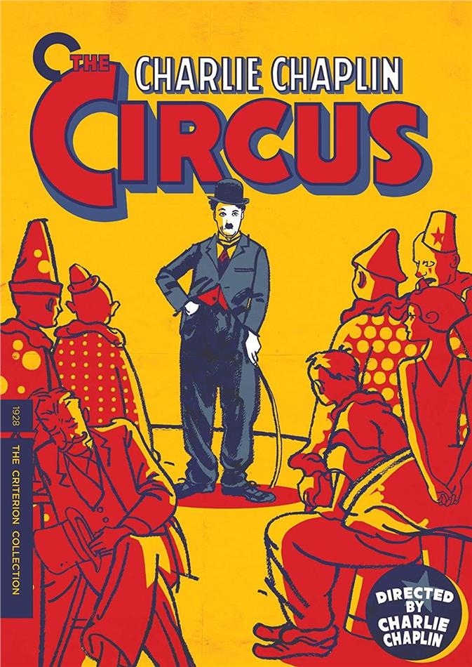Charlie Chaplin - The Circus (1928) (s/w, Criterion Collection)