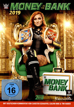WWE: Money in the Bank 2019 (2 DVDs)