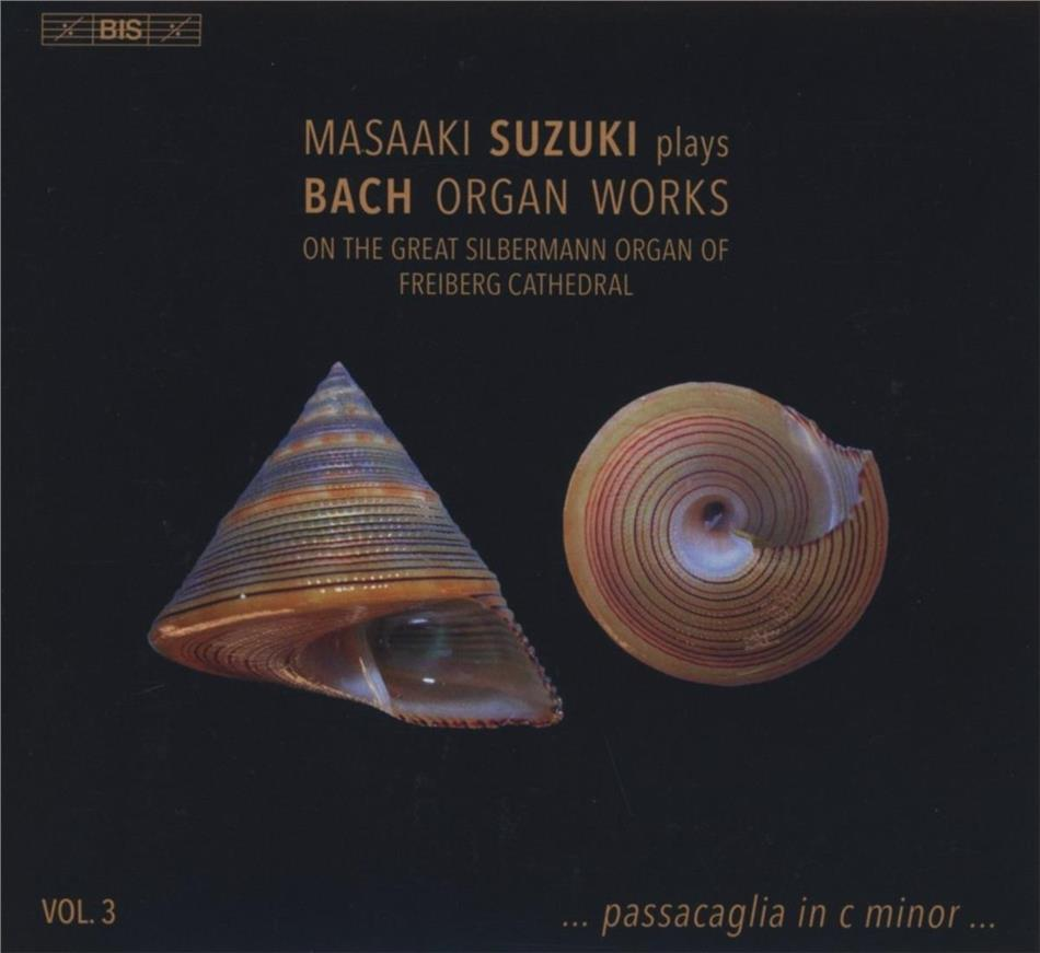 Johann Sebastian Bach (1685-1750) & Masaaki Suzuki - Suzuki Plays Bach Organ 3 - On the great Silbermann Organ of Freiberg Cathedral (Hybrid SACD)