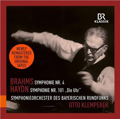 Johannes Brahms (1833-1897), Joseph Haydn (1732-1809), Otto Klemperer & Symphonieorchester des Bayerischen Rundfunks - Symphonie101 Die Uhr, Symphonie Nr. 4