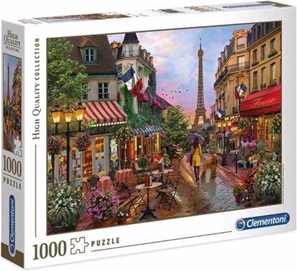 Blumen in Paris - 1000 Teile Puzzle
