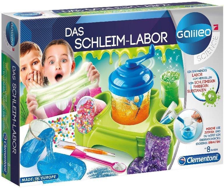 Das Schleim-Labor (Experimentierkasten)