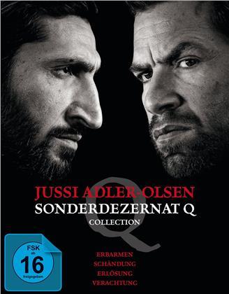 Jussi Adler-Olsen - Sonderdezernat Q (Collection, 4 Blu-rays)
