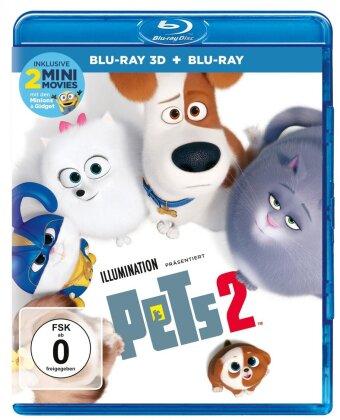 Pets 2 (2019) (Blu-ray 3D + Blu-ray)