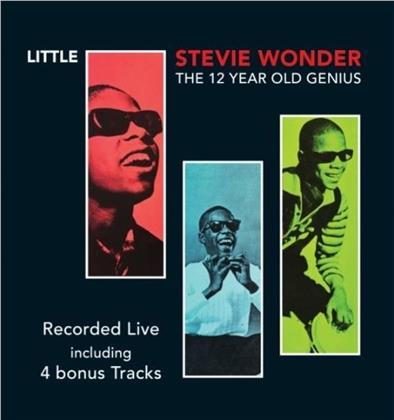 Stevie Wonder - 12 Year Old Genius (+ Bonustracks)