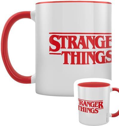Stranger Things - Logo Red Coloured Inner Mug