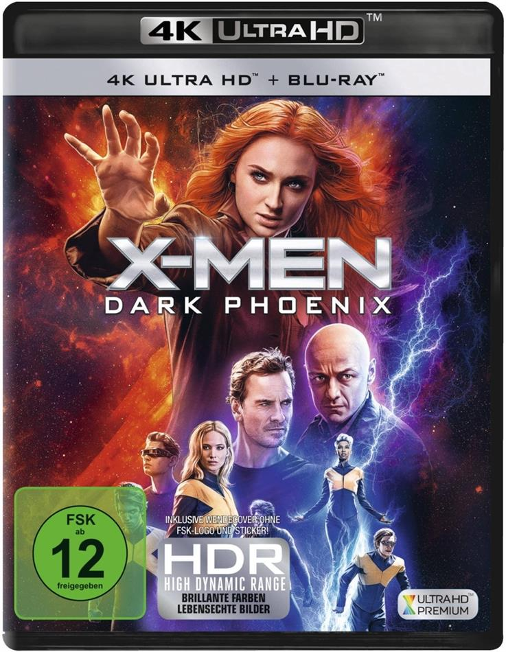 X-Men: Dark Phoenix (2019) (4K Ultra HD + Blu-ray)