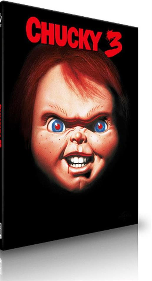 Chucky 3 (1991) (Cover B, Limited Edition, Mediabook, Uncut, Blu-ray + CD)