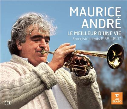 Maurice Andre, Jane Parker Smith, Michel Plasson, Tomaso Albinoni (1671-1751), Johann Sebastian Bach (1685-1750), … - Le Meilleur D'une Vie - Enregistrements 1958-1997 (2019 Reissue, 3 CDs)