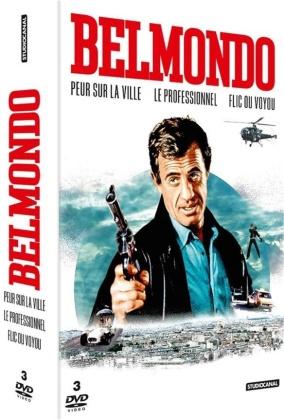 Belmondo - Peur sur la ville / Le Professionnel / Flic ou voyou (3 DVDs)