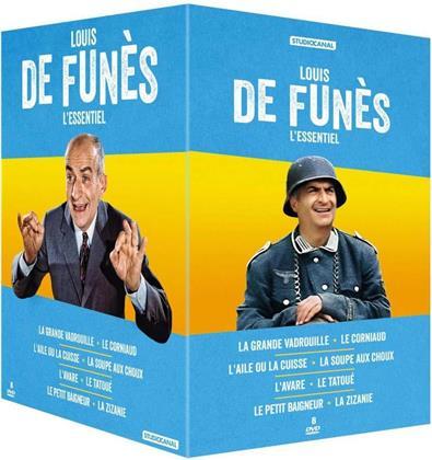 Louis de Funès - L'essentiel (8 DVDs)