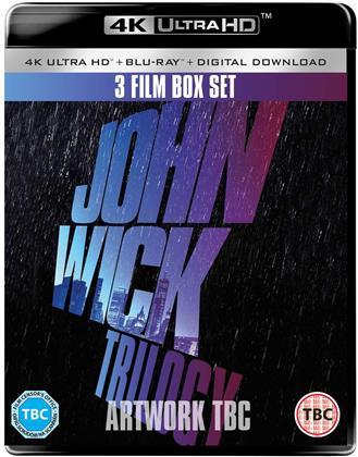 John Wick Trilogy (3 4K Ultra HDs + 3 Blu-rays)