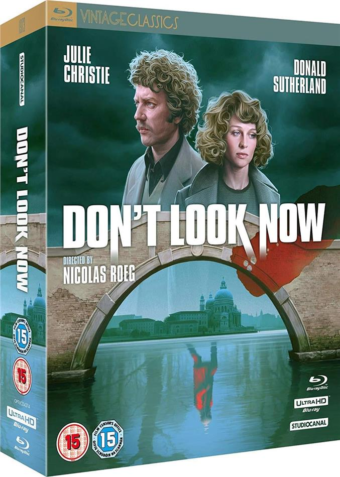 Don't Look Now (1973) (Vintage Classics, Collector's Edition, 4K Ultra HD + 2 Blu-rays + CD)