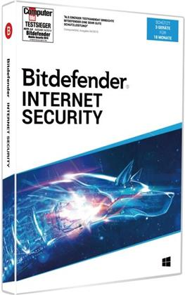 Bitdefender Internet Security 2020 3 Geräte/18Monate