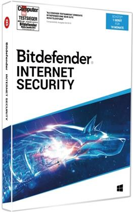 Bitdefender Internet Security 2020 1Gerät/18Monate
