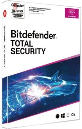 Bitdefender Total Security 2020 3 Geräte/18Monate