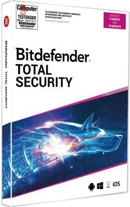 Bitdefender Total Security 2020 5 Geräte/18Monate