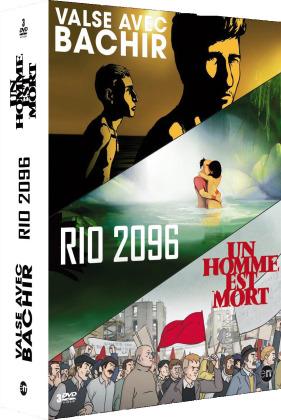 Valse avec Bachir / Rio 2096 / Un homme est mort (3 DVDs)