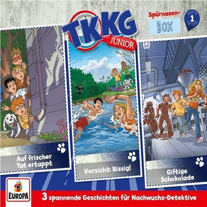 TKKG Junior - 001/3er-Box (Folgen 1, 2, 3) (3 CDs)