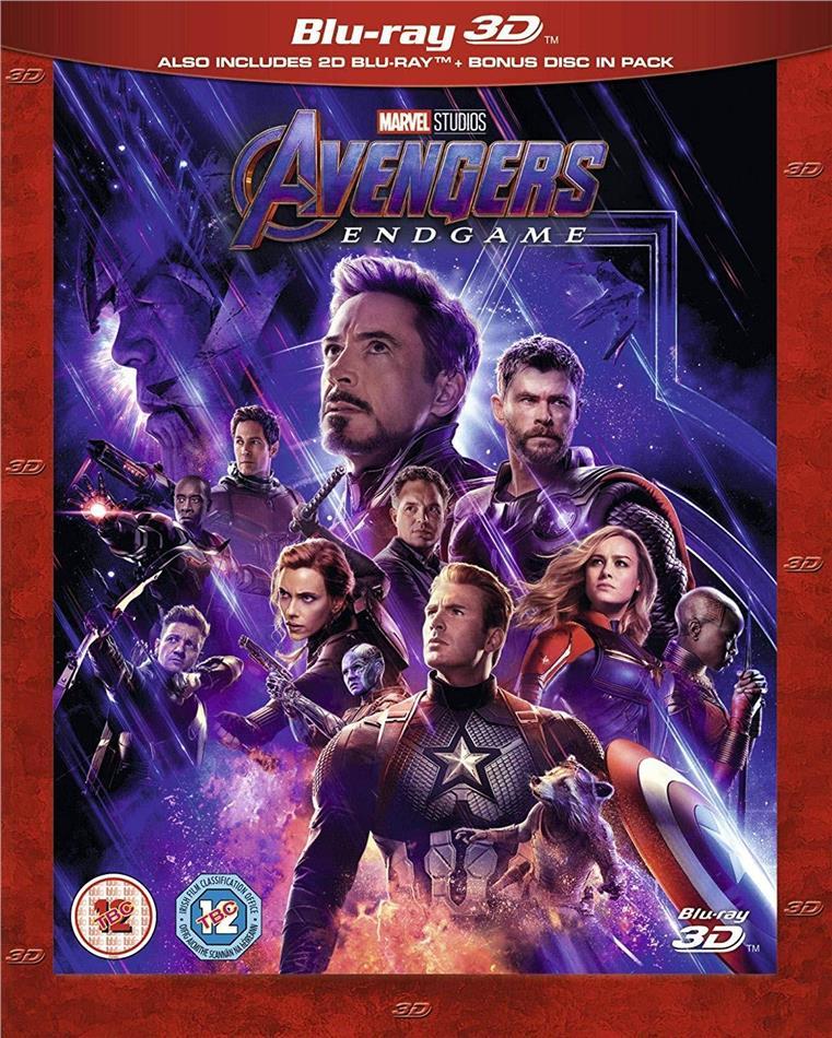 Avengers 4 - Endgame (2019) (Blu-ray 3D + 2 Blu-rays)