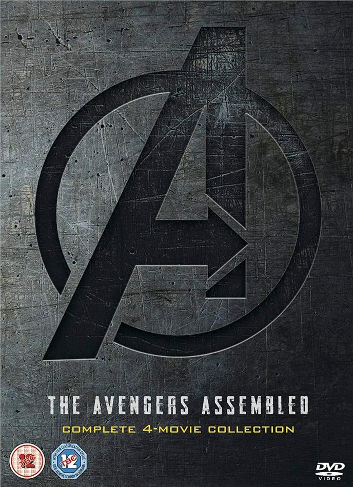 The Avengers Assembled - Complete 4-Movie Collection (4 DVDs)