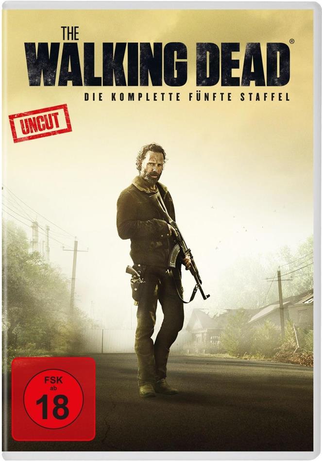 The Walking Dead - Staffel 5 (Uncut, 5 DVDs)