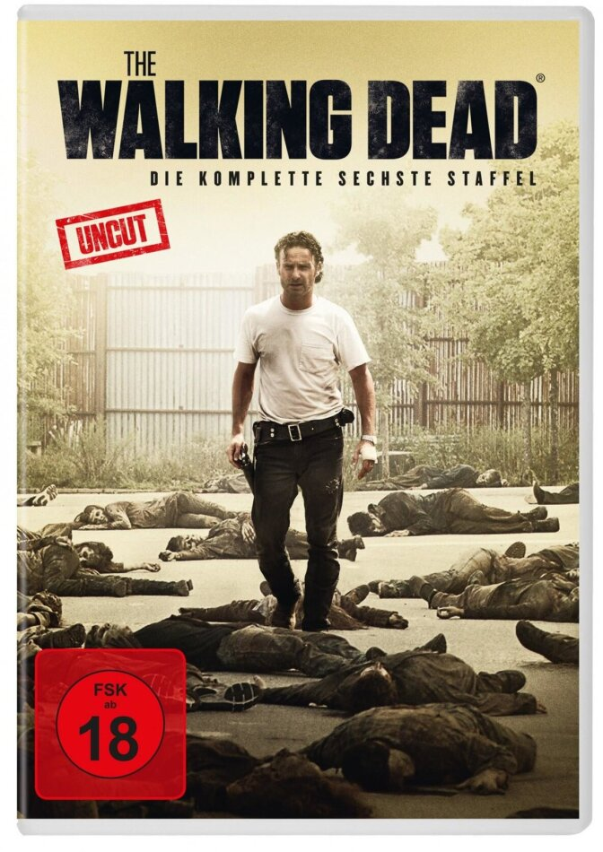 The Walking Dead - Staffel 6 (Uncut, 6 DVDs)