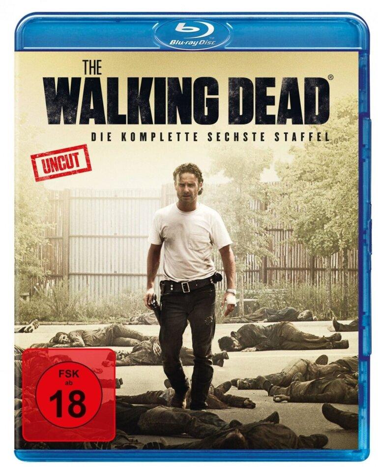 The Walking Dead - Staffel 6 (Uncut, 6 Blu-rays)