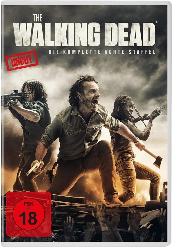 The Walking Dead - Staffel 8 (Uncut, 6 DVDs)
