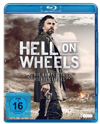 Hell On Wheels - Staffel 4 (4 Blu-rays)