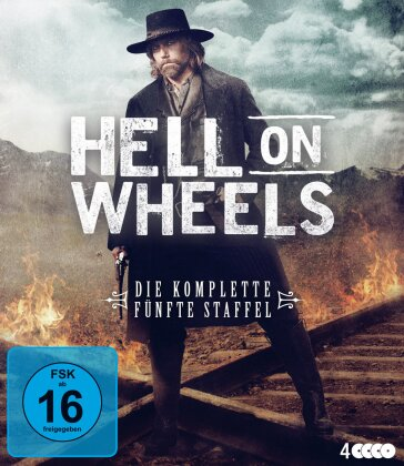 Hell On Wheels - Staffel 5 (4 Blu-rays)